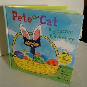 Other - Pete the Cat big easter adventure book